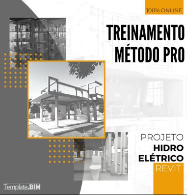 Método PRO Projeto Revit HIDRO ELÉTRICO