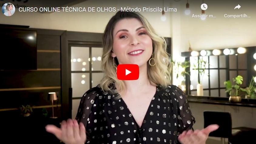 Curso Técnica de Olhos Método Priscila Lima